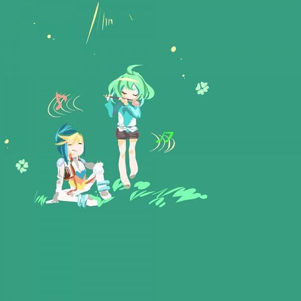 Tags: Anime, Yu-Gi-Oh!, Yu-Gi-Oh! ARC-V, Rin (Yu-Gi-Oh! ARC-V), Yuugo (Yu-Gi-Oh! ARC-V), Fanart From Pixiv, PNG Conversion, Pixiv, Fanart, YugoRin