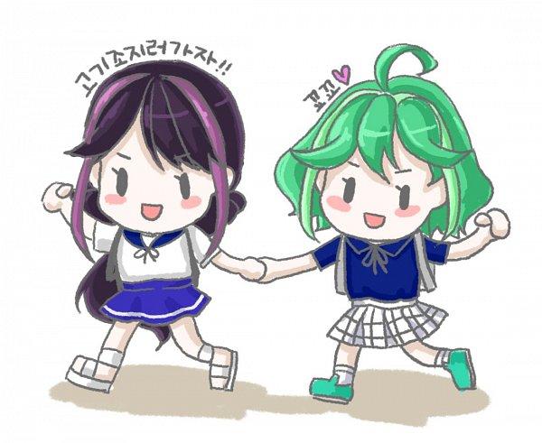 Tags: Anime, Yu-Gi-Oh!, Yu-Gi-Oh! ARC-V, Rin (Yu-Gi-Oh! ARC-V), Kurosaki Ruri, Twitter, Fanart
