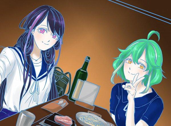 Tags: Anime, Yu-Gi-Oh! ARC-V, Yu-Gi-Oh!, Rin (Yu-Gi-Oh! ARC-V), Kurosaki Ruri, Fanart, Twitter