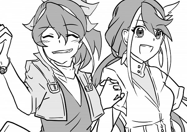 Tags: Anime, Yu-Gi-Oh! ARC-V, Yu-Gi-Oh!, Kurosaki Ruri, Serena (Yu-Gi-Oh! ARC-V), Fanart, Twitter