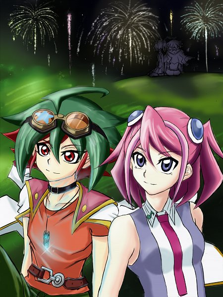 Tags: Anime, Pixiv Id 20063587, Yu-Gi-Oh!, Yu-Gi-Oh! ARC-V, Hiiragi Yuzu, Sakaki Yuya, PNG Conversion, Pixiv, Fanart, Fanart From Pixiv, Mobile Wallpaper, YuyaYuzu