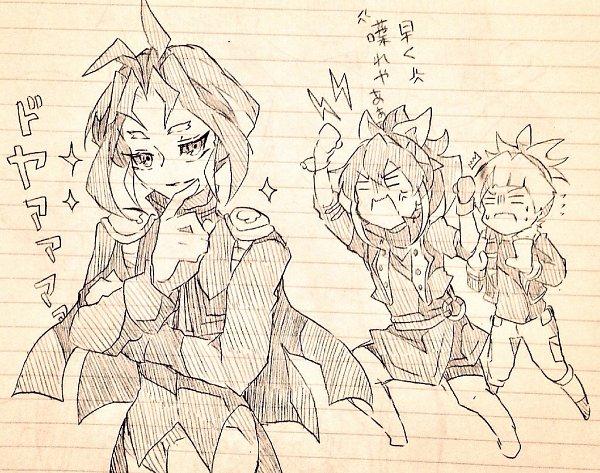 Tags: Anime, Pixiv Id 12315809, Yu-Gi-Oh!, Yu-Gi-Oh! ARC-V, Serena (Yu-Gi-Oh! ARC-V), Yuuri (Yu-Gi-Oh! ARC-V), Shiunin Sora, Fanart From Pixiv, Pixiv, Fanart