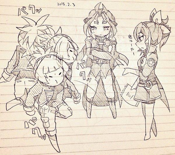 Tags: Anime, Pixiv Id 12315809, Yu-Gi-Oh!, Yu-Gi-Oh! ARC-V, Serena (Yu-Gi-Oh! ARC-V), Yuuri (Yu-Gi-Oh! ARC-V), Shiunin Sora, Pixiv, Fanart, Fanart From Pixiv