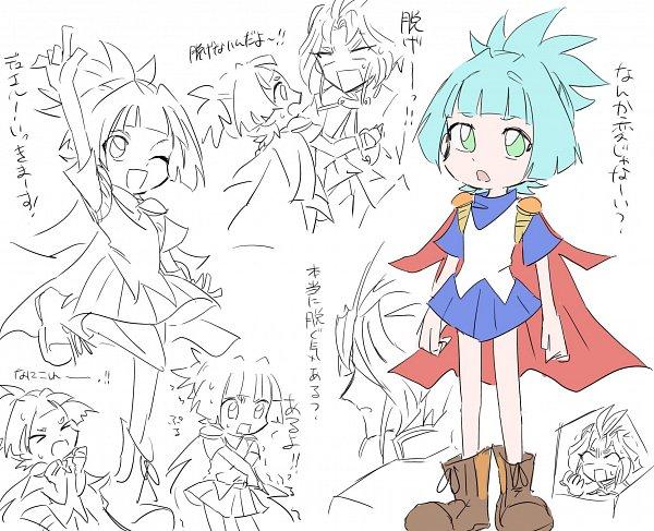 Tags: Anime, Yu-Gi-Oh!, Yu-Gi-Oh! ARC-V, Yuuri (Yu-Gi-Oh! ARC-V), Shiunin Sora, Arle Nadja (Cosplay), Puyo Puyo (Cosplay), Fanart, Twitter