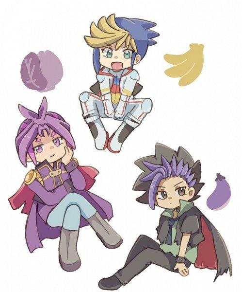 Tags: Anime, Pixiv Id 3921114, Yu-Gi-Oh!, Yu-Gi-Oh! ARC-V, Yuuri (Yu-Gi-Oh! ARC-V), Yuugo (Yu-Gi-Oh! ARC-V), Yuto (Yu-Gi-Oh! ARC-V), Fanart, Twitter, Fanart From Pixiv, Pixiv