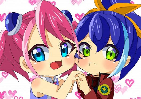 Tags: Anime, Pixiv Id 10571225, Yu-Gi-Oh!, Yu-Gi-Oh! ARC-V, Serena (Yu-Gi-Oh! ARC-V), Hiiragi Yuzu, Fanart From Pixiv, Pixiv, Fanart