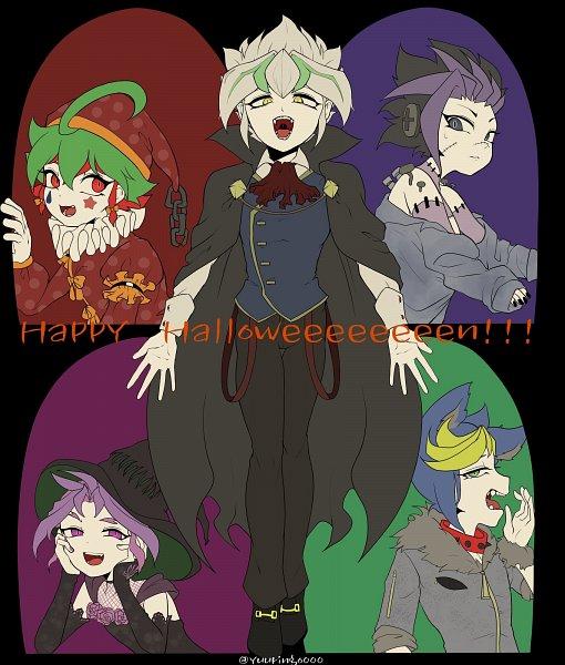 Tags: Anime, Yu-Gi-Oh!, Yu-Gi-Oh! ARC-V, Yuuri (Yu-Gi-Oh! ARC-V), Yuugo (Yu-Gi-Oh! ARC-V), Yuto (Yu-Gi-Oh! ARC-V), Sakaki Yuya, Zarc, Twitter, Fanart
