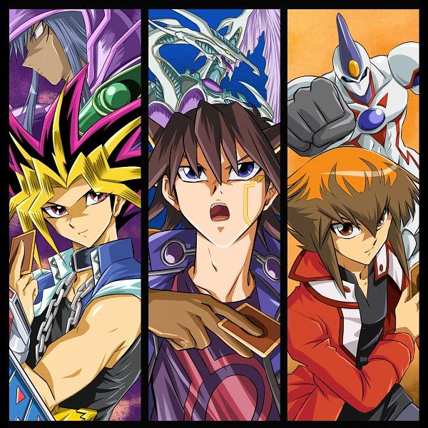 Tags: Anime, Ashi Ura, Yu-Gi-Oh! Bonds Beyond Time, Yu-Gi-Oh! GX, Yu-Gi-Oh!, Yu-Gi-Oh! 5D's, Yu-Gi-Oh! Duel Monsters, Elemental HERO Neos, Stardust Dragon, Juudai Yuuki, Yami Yugi, Yusei Fudo, Dark Magician