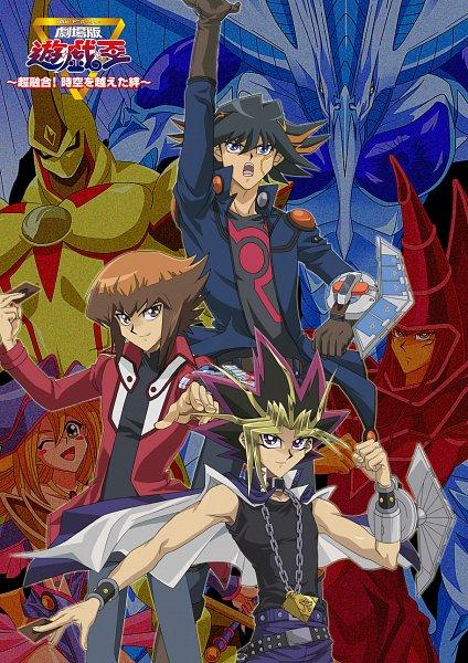 Tags: Anime, Pixiv Id 1671928 Ygo, Yu-Gi-Oh! Bonds Beyond Time, Yu-Gi-Oh!, Yu-Gi-Oh! 5D's, Yu-Gi-Oh! Duel Monsters, Yu-Gi-Oh! GX, Dark Magician, Elemental HERO Neos, Stardust Dragon, Juudai Yuuki, Yami Yugi, Yusei Fudo