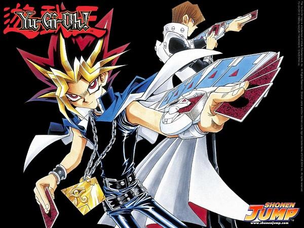 Tags: Anime, Takahashi Kazuki, Studio Gallop, Yu-Gi-Oh! Duel Monsters, Yu-Gi-Oh!, Mutou Yuugi, Kaiba Seto, Wallpaper