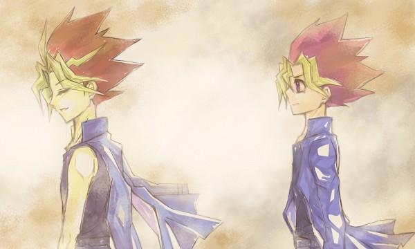 Tags: Anime, Pixiv Id 3015526, Yu-Gi-Oh!, Yu-Gi-Oh! Duel Monsters, Yami Yugi, Mutou Yuugi, Fanart, Fanart From Pixiv, Pixiv, AtemOmo