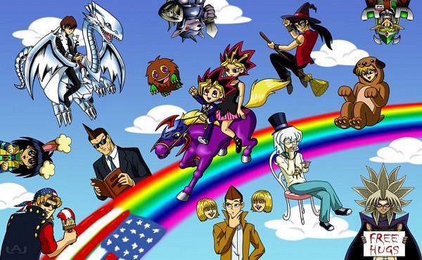 Tags: Anime, Yu-Gi-Oh!: The Abridged Series, Yu-Gi-Oh! Duel Monsters, Yu-Gi-Oh!, Kaiba Mokuba, Blue-Eyes White Dragon, Bakura Ryou, Ryuuji Otogi, Kuriboh, Jounouchi Katsuya, Yami Marik, Kaiba Seto, Bandit Keith