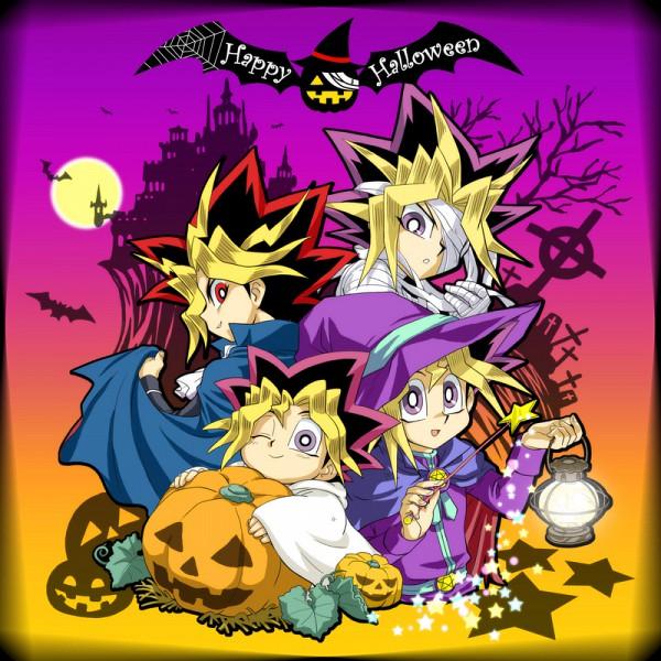 Tags: Anime, Pixiv Id 1457981, Yu-Gi-Oh! Season Zero, Yu-Gi-Oh!, Yu-Gi-Oh! Duel Monsters, Yami Yugi, Mutou Yuugi, Mummy