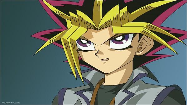 Tags: Anime, Yu-Gi-Oh!, Yu-Gi-Oh! Duel Monsters, Yami Yugi, Mutou Yuugi, Wallpaper, HD Wallpaper