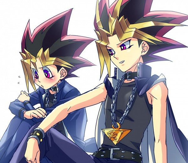 Tags: Anime, Rokuro, Yu-Gi-Oh! Duel Monsters, Yu-Gi-Oh!, Mutou Yuugi, Yami Yugi, Pixiv, Fanart From Pixiv, Fanart, AtemOmo