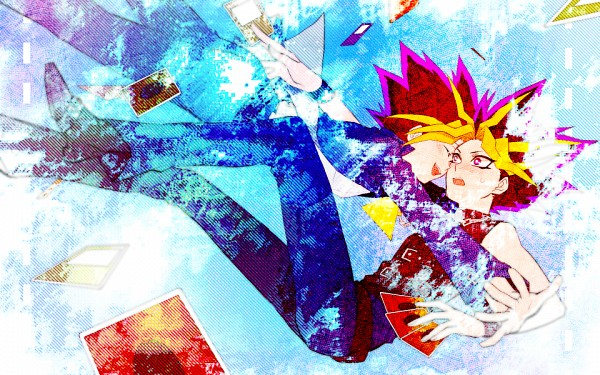 Tags: Anime, Pixiv Id 403610, Yu-Gi-Oh! Duel Monsters, Yu-Gi-Oh!, Mutou Yuugi, Yami Yugi, , Pixiv, Fanart, Fanart From Pixiv, AtemOmo