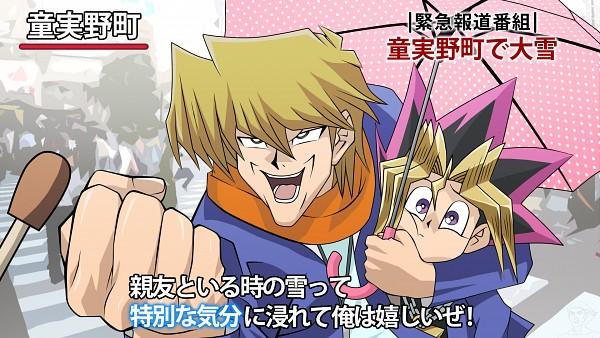 Tags: Anime, Pixiv Id 5427007, Yu-Gi-Oh! Duel Monsters, Yu-Gi-Oh!, Mutou Yuugi, Jounouchi Katsuya, Fanart From Pixiv, Fanart, Pixiv, Tokubetsuna Kibun, Wallpaper, HD Wallpaper