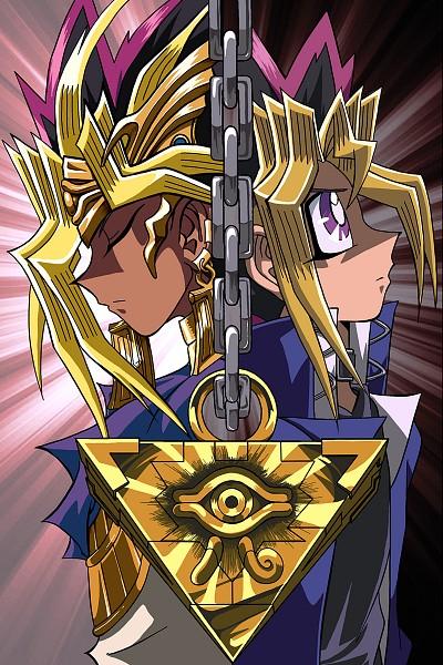 Tags: Anime, Pixiv Id 3978718, Yu-Gi-Oh!, Yu-Gi-Oh! Duel Monsters, Mutou Yuugi, Pharaoh Atem, Yami Yugi, Egyptian Clothes, Fanart From Pixiv, Mobile Wallpaper, PNG Conversion, Fanart, Pixiv