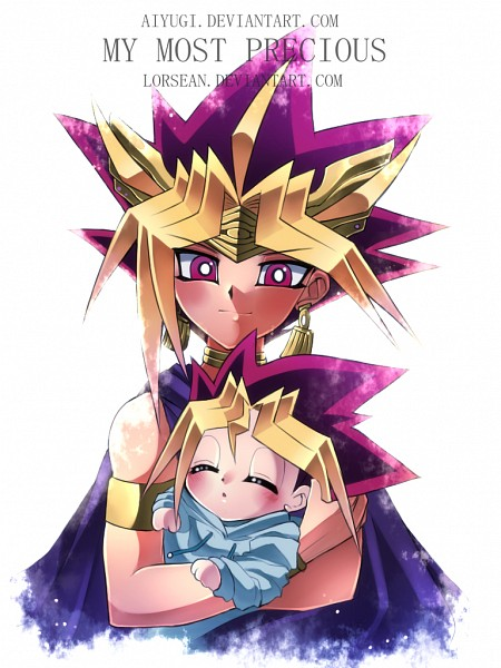 Tags: Anime, Aiyugi, Yu-Gi-Oh! Duel Monsters, Yu-Gi-Oh!, Mutou Yuugi, Pharaoh Atem, Yami Yugi, Egyptian Clothes, Ankh (Object), Fanart, deviantART, Mobile Wallpaper, Fanart From DeviantART