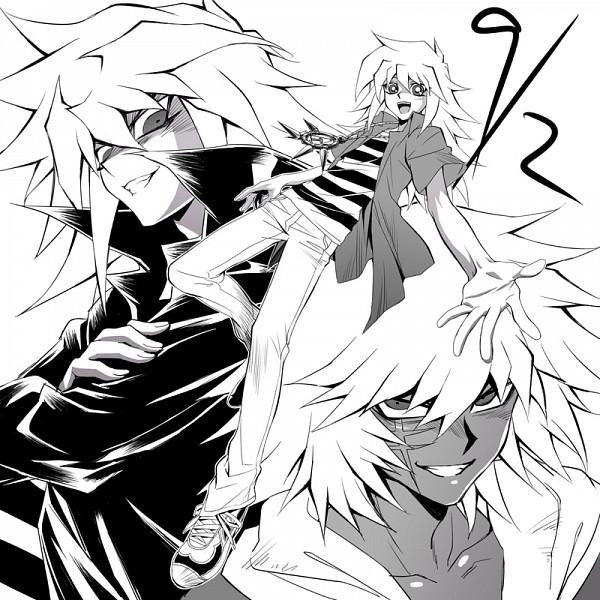 Tags: Anime, Shikihitohira, Yu-Gi-Oh!, Yu-Gi-Oh! Duel Monsters, Yami Bakura, Bakura Ryou, Thief King Bakura, Millennium Ring, Fanart From Pixiv, Fanart, Pixiv