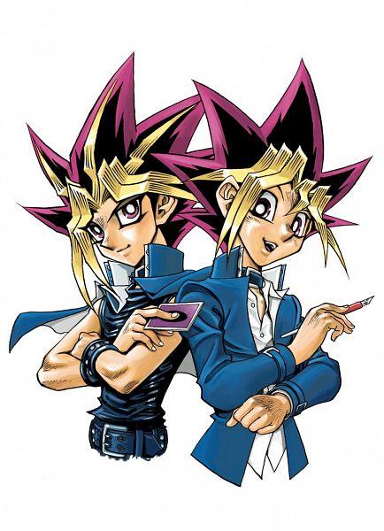 Tags: Anime, Takahashi Kazuki, Yu-Gi-Oh!, Yu-Gi-Oh! Duel Monsters, Yami Yugi, Mutou Yuugi, Twitter, Official Art