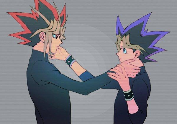 Tags: Anime, Yu-Gi-Oh! Duel Monsters, Yu-Gi-Oh!, Mutou Yuugi, Yami Yugi, Fanart, Twitter, AtemOmo