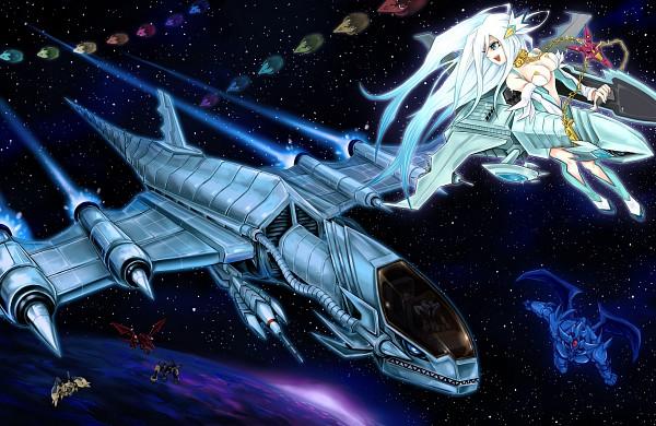 Tags: Anime, Chinchira, Yu-Gi-Oh! Duel Monsters, Yu-Gi-Oh!, Obelisk the Tormenter, Kaiba Mokuba, Kaiba Seto, Kisara, Fanart, Pixiv, Fanart From Pixiv, SetoKisa