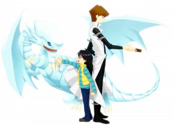 Tags: Anime, Studio Gallop, Yu-Gi-Oh! Duel Monsters, Yu-Gi-Oh!, Blue-Eyes White Dragon, Kaiba Mokuba, Kaiba Seto