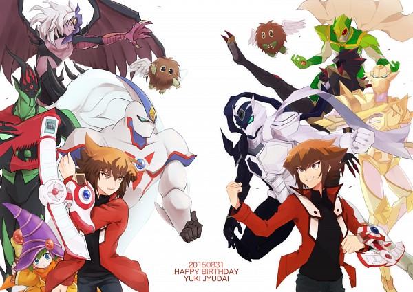 Tags: Anime, Pixiv Id 4598980, Yu-Gi-Oh!, Yu-Gi-Oh! GX, Yubel, Masked HERO Koga, Winged Kuriboh, Juudai Yuuki, Masked HERO Ank, Elemental HERO Flame Wingman, Contrast HERO Chaos, Elemental HERO Neos, Masked HERO Divine Wind