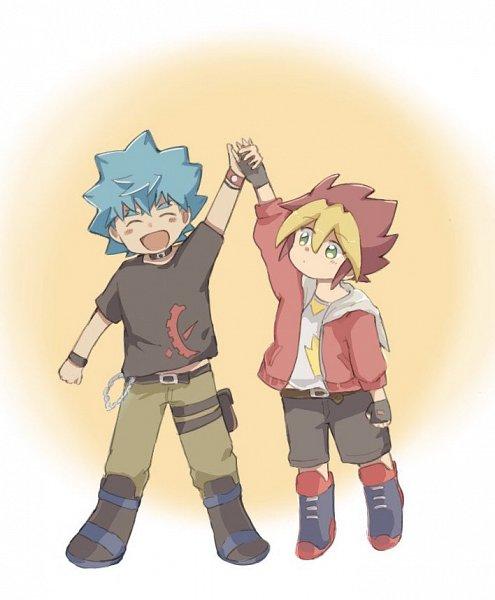 Tags: Anime, Pixiv Id 3921114, Yu-Gi-Oh! SEVENS, Yu-Gi-Oh!, Kamijou Tatsuhisa, Oudou Yuuga, Twitter, Fanart From Pixiv, Pixiv, Fanart