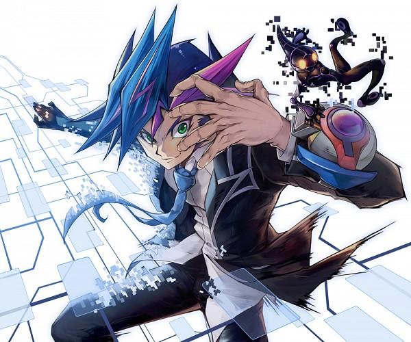 Tags: Anime, Pixiv Id 68823, Yu-Gi-Oh! VRAINS, Yu-Gi-Oh!, Ai (Yu-Gi-Oh! VRAINS), Fujiki Yuusaku, Mouthless, Fanart, Fanart From Pixiv, Pixiv