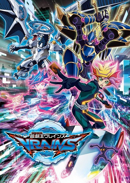 Tags: Anime, Yu-Gi-Oh! VRAINS, Yu-Gi-Oh!, Fujiki Yuusaku, Firewall Dragon, Decode Talker, Playmaker, Ai (Yu-Gi-Oh! VRAINS), Surfing, Hoverboard, Skyscraper, D-Board, Skating