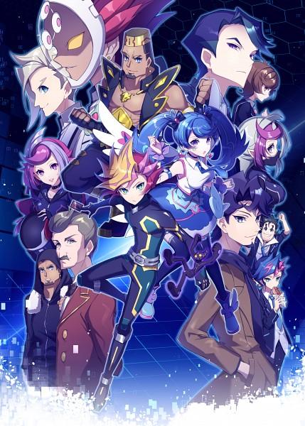 Tags: Anime, Yuui1994, Yu-Gi-Oh! VRAINS, Yu-Gi-Oh!, Ghost Girl, Kusanagi Shouichi, Zaizen Aoi, Onizuka Gou's Manager, Zaizen Akira, Playmaker, Shima Naoki, Revolver (Yu-Gi-Oh! VRAINS), Specter
