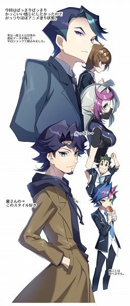 Tags: Anime, Yuui1994, Yu-Gi-Oh! VRAINS, Yu-Gi-Oh!, Shima Naoki, Fujiki Yuusaku, Bessho Ema, Kusanagi Shouichi, Ghost Girl, Zaizen Akira, Zaizen Aoi, No Nose, No Arms