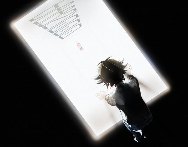 Tags: Anime, Pixiv Id 16288558, Yu-Gi-Oh! VRAINS, Yu-Gi-Oh!, Kougami Ryouken, Fujiki Yuusaku, Fanart, Fanart From Pixiv, PNG Conversion, Pixiv