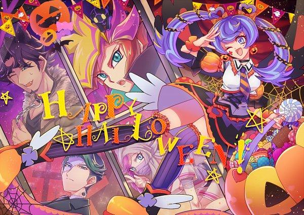 Tags: Anime, Rinou May, Yu-Gi-Oh! VRAINS, Yu-Gi-Oh!, Bessho Ema, Zaizen Aoi, Ghost Girl, Ai (Yu-Gi-Oh! VRAINS), Playmaker, Kusanagi Shouichi, Fujiki Yuusaku, Zaizen Akira, Blue Angel