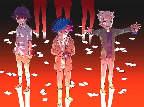 Tags: Anime, Pixiv Id 1583868, Yu-Gi-Oh! VRAINS, Yu-Gi-Oh!, Fujiki Yuusaku, Kusanagi Jin, Specter, Pixiv, Fanart, Fanart From Pixiv