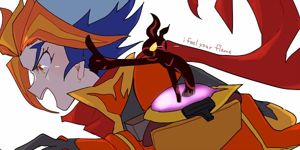 Tags: Anime, Pixiv Id 764746, Yu-Gi-Oh! VRAINS, Yu-Gi-Oh!, Homura Takeru, Flame (Yu-Gi-Oh! VRAINS), Soulburner, Fanart, Fanart From Pixiv, Pixiv