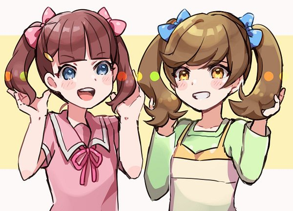 Tags: Anime, Yu-Gi-Oh! VRAINS, Yu-Gi-Oh!, Zaizen Aoi, Sugisaki Miyu, Fanart, Artist Request