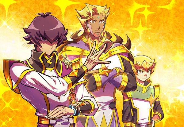 Tags: Anime, Pixiv Id 1906197, Yu-Gi-Oh! VRAINS, Yu-Gi-Oh!, Haru (Yu-Gi-Oh! VRAINS), Kusanagi Jin, Lightning (Yu-Gi-Oh! VRAINS), Windy (Yu-Gi-Oh! VRAINS), Bohman, Fanart From Pixiv, Pixiv, Fanart
