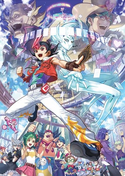 Tags: Anime, YNA, Yu-Gi-Oh! ZEXAL, Yu-Gi-Oh!, Fuya Okudaira, IV (Yu-Gi-Oh! ZEXAL), Kitano Ukyo, Takeda Tetsuo, Tsukumo Haru, Todoroki Takashi, Droite, Astral, Mr. Heartland