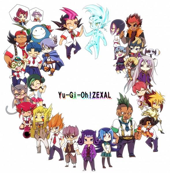 Tags: Anime, Pixiv Id 1474474, Yu-Gi-Oh! ZEXAL, Yu-Gi-Oh!, Obomi, Kozuki Anna, Kamishiro Rio, Todoroki Takashi, IV (Yu-Gi-Oh! ZEXAL), Mizael, Astral, Takeda Tetsuo, Tsukumo Haru