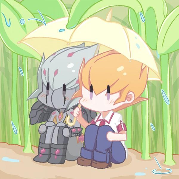 Tags: Anime, Pixiv Id 10532838, Yu-Gi-Oh!, Yu-Gi-Oh! ZEXAL, Vector (Yu-Gi-Oh! ZEXAL), Shingetsu Rei, Open Umbrella, No Nose, Mouthless, Fanart, Fanart From Pixiv, Pixiv, PNG Conversion