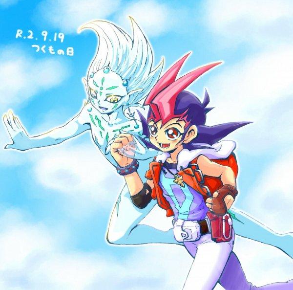 Tags: Anime, Yu-Gi-Oh! ZEXAL, Yu-Gi-Oh!, Astral, Tsukumo Yuma, Twitter, Fanart
