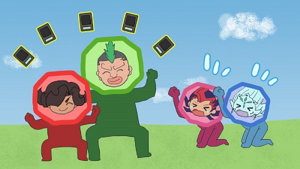 Tags: Anime, Pixiv Id 1089544, Yu-Gi-Oh! ZEXAL, Yu-Gi-Oh!, Tsukumo Yuma, Alito, Astral, Girag, Big Nose, Mohawk, Fanart, Pixiv, Fanart From Pixiv
