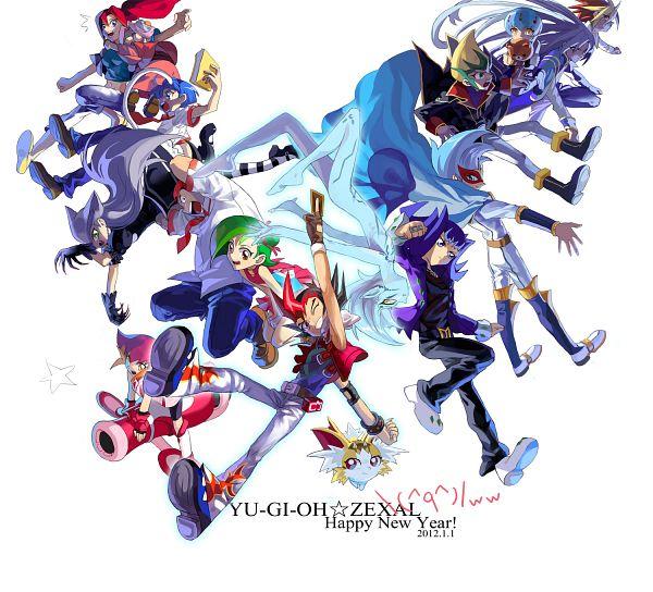 Tags: Anime, Pixiv Id 904540, Yu-Gi-Oh! ZEXAL, Yu-Gi-Oh!, Todoroki Takashi, Astral, Kozuki Anna, Tenjou Haruto, Tsukumo Haru, Kamishiro Ryoga, Takeda Tetsuo, Tenjou Kaito, Mizuki Kotori