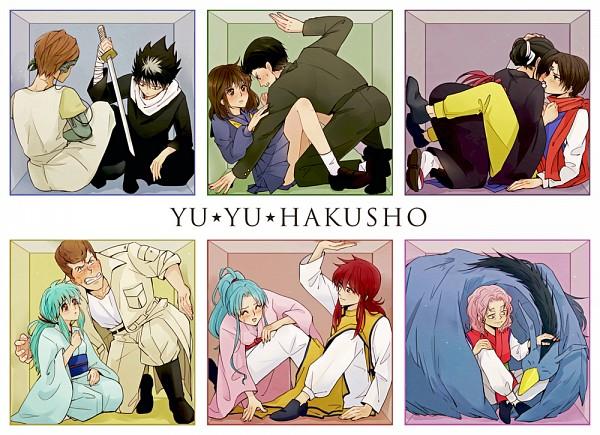 Tags: Anime, Pixiv Id 2677536, Ayame (Yu Yu Hakusho), Genkai (Yu Yu Hakusho), Hiei, Yukina (Yu Yu Hakusho), Mukuro (YYH), Kurama, Botan, Yukimura Keiko, Puu (YYH), Koenma, Urameshi Yuusuke