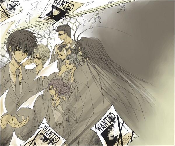 Tags: Anime, Yu Yu Hakusho, Hiei, Yomi (yyh), Kurama, Karasu, Urameshi Yuusuke, Koenma, Genkai (Yu Yu Hakusho), Kuwabara Kazuma, Artist Request