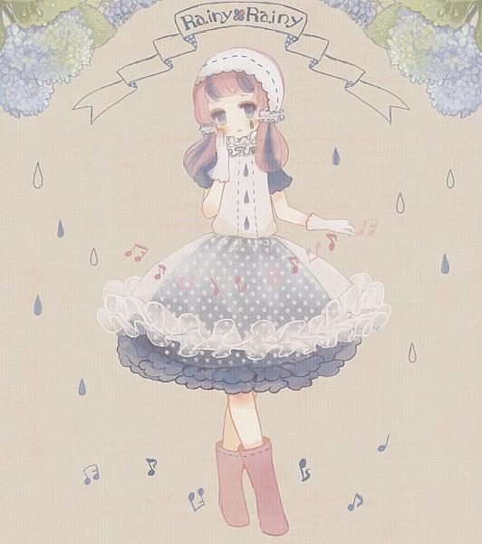 Tags: Anime, YuJuP, Rain Boots, Original, Pixiv