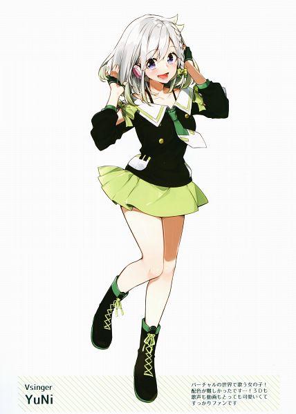 Tags: Anime, Sakuragi Ren, YuNichannel, SakuragiRen Characters Volume 1, YuNi (VTuber), Official Art, Scan, Comic Market, Comic Market 94